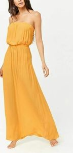 Forever 21-A swim cover-up maxi dre…